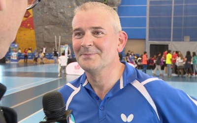 Interview Richmond Olympic Oval Vancouver Canada